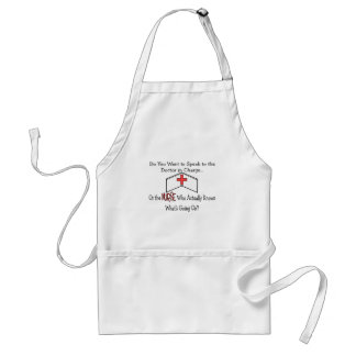 Funny Nurse Gifts Adult Apron