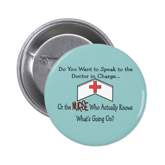 Funny Nurse Gifts Button