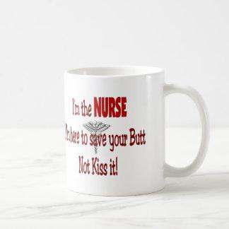 Funny Nurse Gifts Classic White Coffee Mug