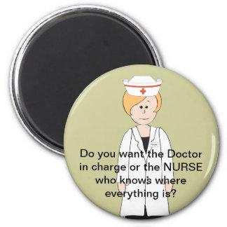 Funny Nurse Magnets
