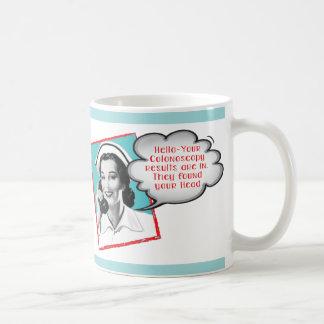 Funny Nurse on the phone mug