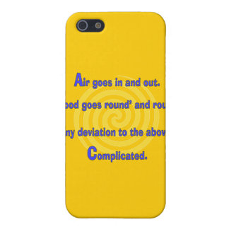 Funny Nurse or Respiratory Therapy Gifts Case For iPhone 5