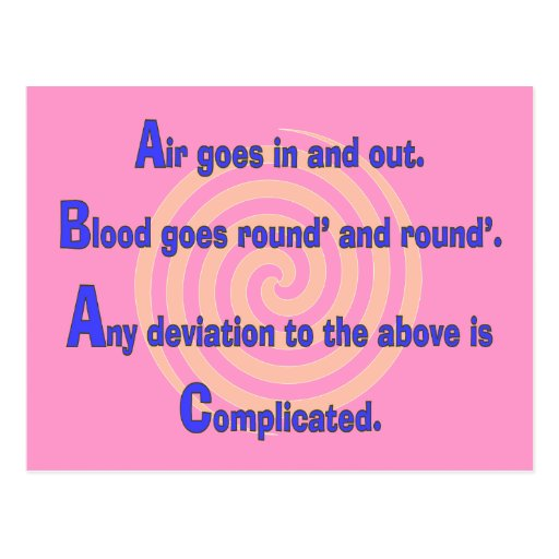 Funny Nurse Or Respiratory Therapy Gifts Postcards
