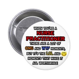 Funny Nurse Practitioner ... OMG WTF LOL Button
