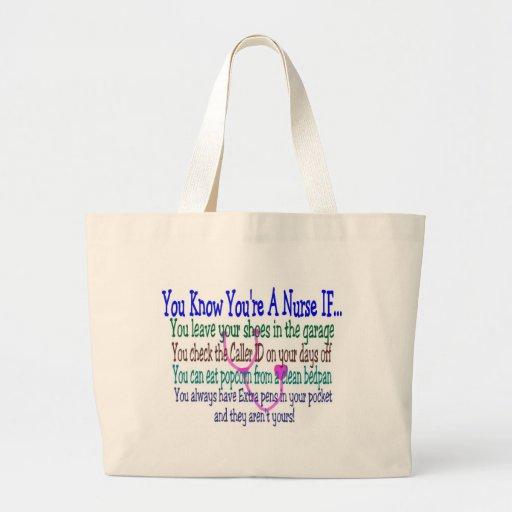 Funny Nurse Sayings Bag