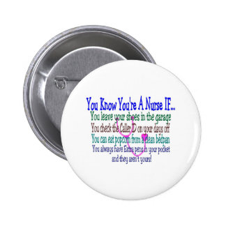 Funny Nurse Sayings Buttons