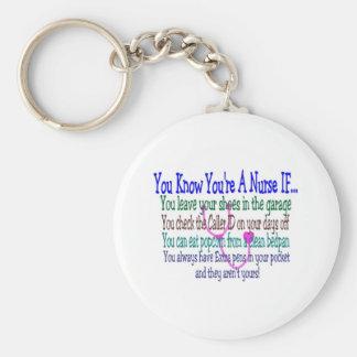 Funny Nurse Sayings Key Chain
