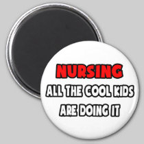 Funny Nurse Shirts and Gifts 2 Inch Round Magnet