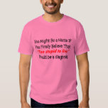"Funny Nurse T-Shirt ""Too Stupid To Live"""