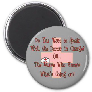 Funny Nurse T-Shirts and Gifts 2 Inch Round Magnet