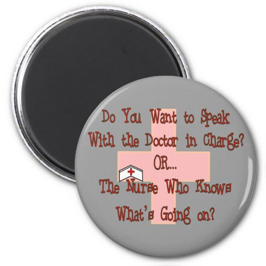 Funny Nurse T-Shirts and Gifts Magnet