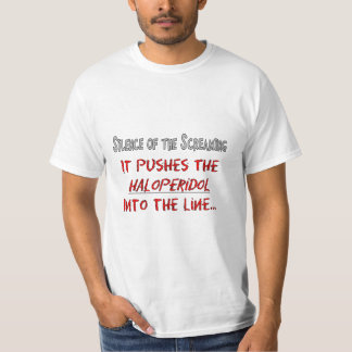 """Funny Nurse T-Shirts """"Silence of the Screaming"""""""