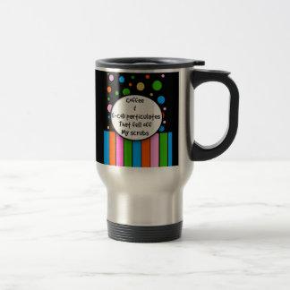"Funny Nurse Travel Mug ""Coffee and E-Coli"""