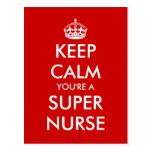Funny nurses week nursing day postcards