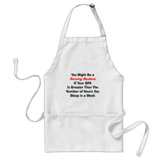 Funny Nursing Student Gifts Adult Apron