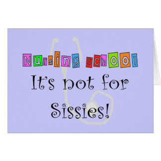Funny Nursing Student Gifts Card