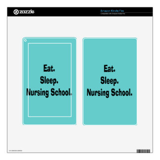 Funny Nursing Student Gifts Decals For Kindle Fire
