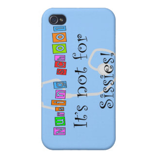 Funny Nursing Student Gifts iPhone 4/4S Cover