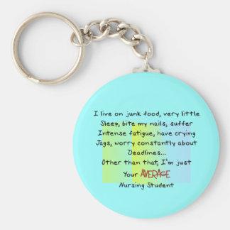 Funny Nursing Student Gifts Keychain