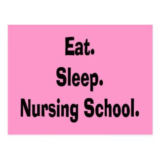 Funny Nursing Student Gifts Postcard