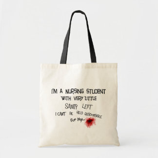 Funny Nursing Student T-shirts and Gifts Tote Bags