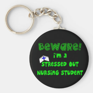 Funny Nursing Student T-Shirts and Gifts Keychain