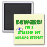 Funny Nursing Student T-Shirts and Gifts Refrigerator Magnets