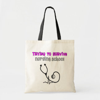 Funny Nursing Student Tote Bag and Gifts
