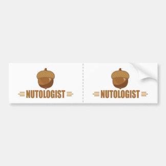 Funny Nut Lover Car Bumper Sticker
