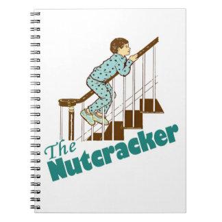 Funny Nutcracker Christmas Notebook