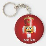 Funny Nutcracker Keychain