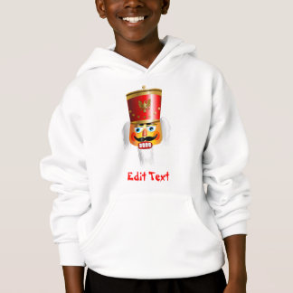 Funny Nutcracker Toy Soldier Cartoon Hoodie