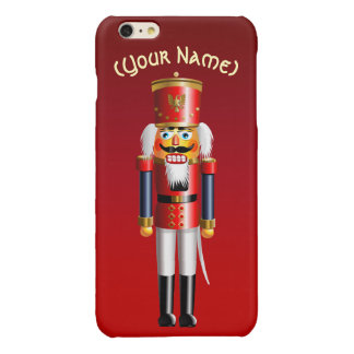 Funny Nutcracker Toy Soldier Glossy iPhone 6 Plus Case