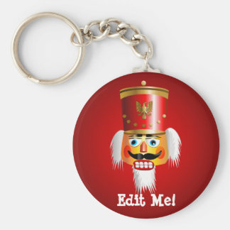 Funny Nutcracker Toy Soldier Keychain