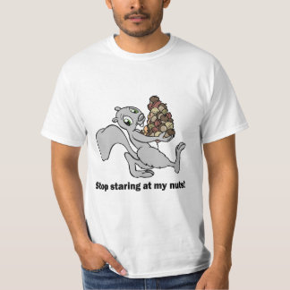 Funny nuts squirrel shirts