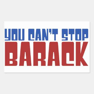 Funny Obama 2012 Rectangular Sticker