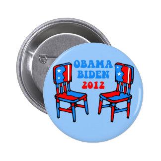 funny Obama Biden 2 Inch Round Button