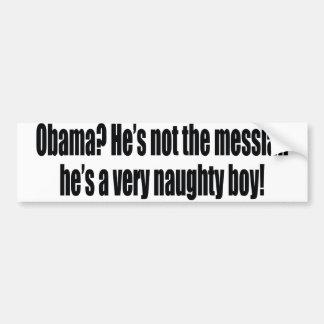 Funny Obama Bumper Stickers