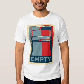 Funny Obama Political Satire Empty Chair T Shirt