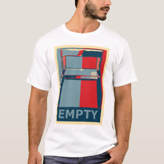 Funny Obama Political Satire Empty Chair T-Shirt
