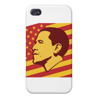 Funny Obama Socialist America iPhone 4 Cases
