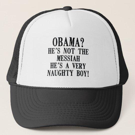 Funny Obama Trucker Hat