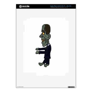 Funny Obama Zombie Skin For iPad 3
