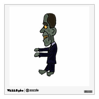 Funny Obama Zombie Wall Decal
