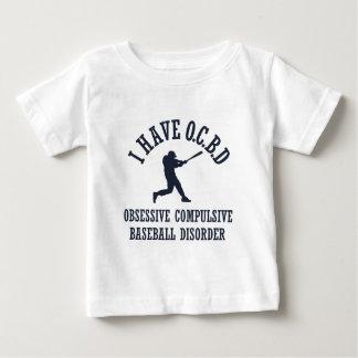 Funny Obsessive Compulsive Baseball Disorder Baby T-Shirt