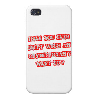Funny Obstetrician Pick-Up Line iPhone 4/4S Cases