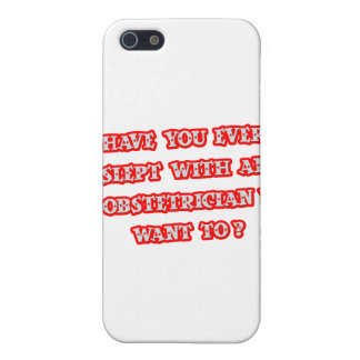 Funny Obstetrician Pick-Up Line iPhone 5 Cover
