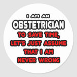 Funny Obstetrician T-Shirts and Gifts Stickers