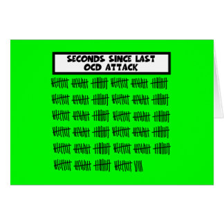 Funny OCD Card