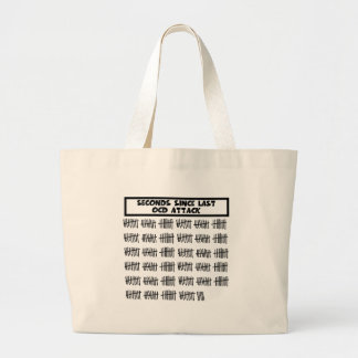 Funny OCD Large Tote Bag